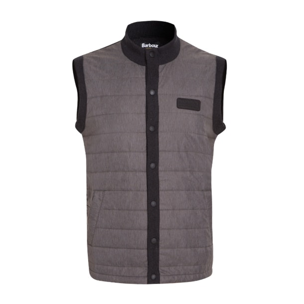 c25e8c395 Barbour Jackets And Coats, Grey Sleeveless Bomber Jacket for Men at ...
