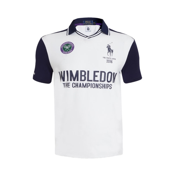 a2278203 Polo Ralph Lauren Polos, White Wimbledon Polo T-Shirt for Men at ...