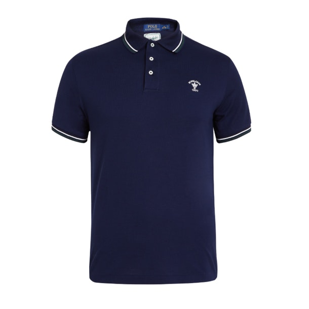 9e415a0a Polo Ralph Lauren Polos, Navy Wimbledon Polo T-Shirt for Men at ...