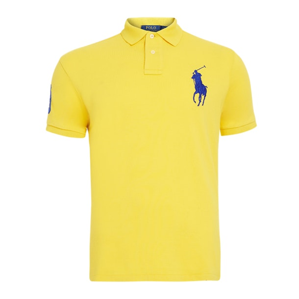 fdafc4fd Polo Ralph Lauren Polos, Yellow Polo T-Shirt for Men at Thecollective.in