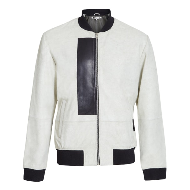 301c23abd Mcq Alexander McQueen Jackets And Coats, White Bomber Cracked ...
