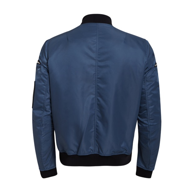 06f839bf5 Dsquared 2 Jackets And Coats, Blue Multi-Zip Bomber Jacket for Men ...
