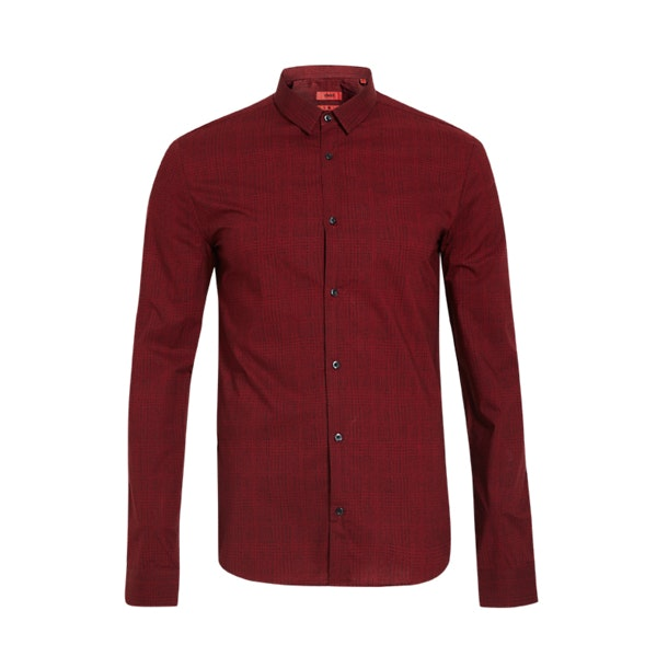 d51ee478fc448 Hugo Formal Shirts, Stylish Red Shirt for Men at Thecollective.in