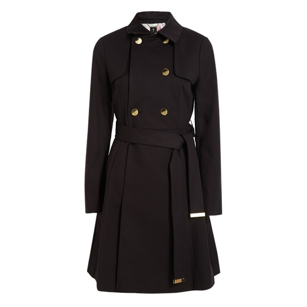 94058f7c409 Ted Baker Jackets, Nusa Black Trenchoat for Women at Thecollective.in