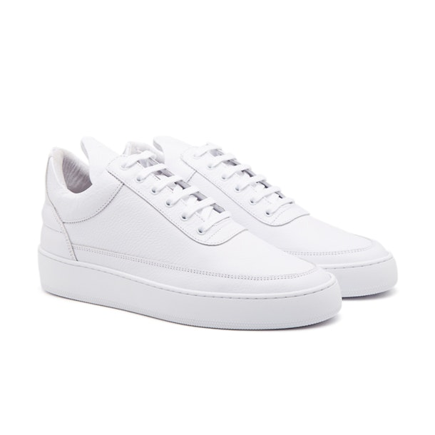 100% authentic bbd7c c45b8 White Low Top Cleo Sneakers