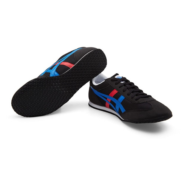 promo code 3d632 8f939 Onitsuka Tiger Shoes, Black Machu Racer Shoes for Men at ...