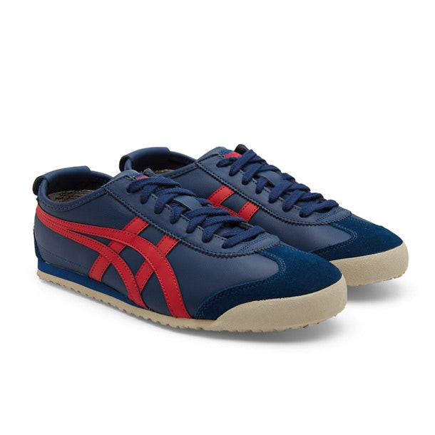 huge selection of 67f4e 00c00 Onitsuka Tiger Shoes, Dark Blue Mexico Sneakers for Men at ...