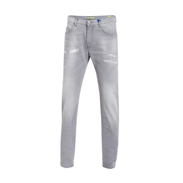 1d860c98ca Versace Jeans Jeans, Grey Five Pocket Denim Jeans for Men at ...