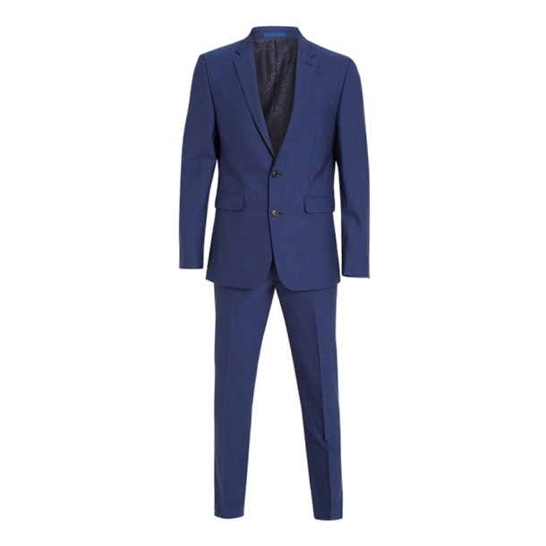 feff689295 Scotch & Soda Suits And Blazers, Blue Solid Suit for Men at ...