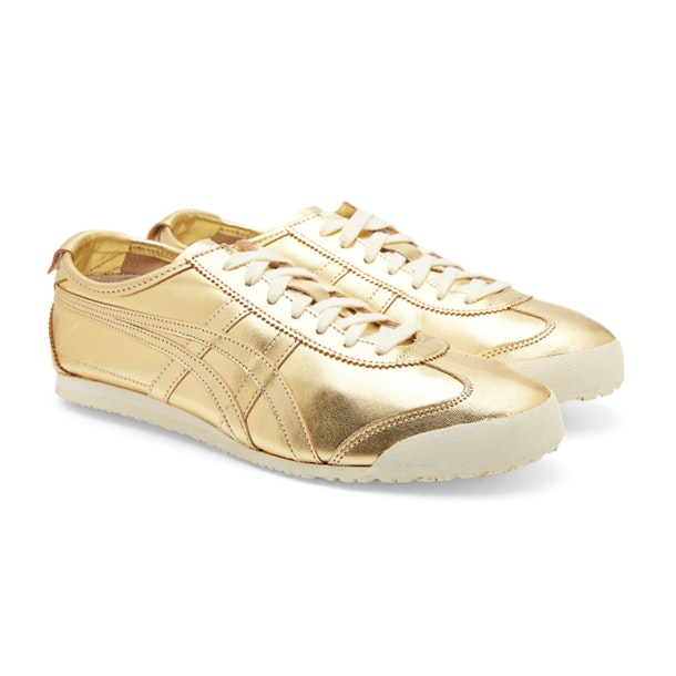 new concept b2231 d8f43 Onitsuka Tiger Shoes, Gold Mexico 66 Sneakers for Men at ...