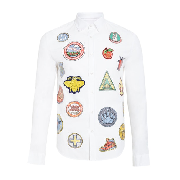 58e5f43de64d2 Love Moschino Casual Shirts