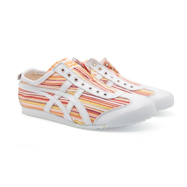 2b42415413 Onitsuka Tiger Shoes, Orange Mexico 66 Slip On Shoes for Men at ...