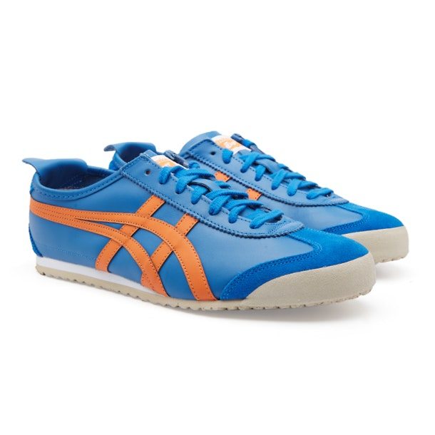 best loved 094d9 b46b8 Onitsuka Tiger Shoes, Blue Mexico 66 Contrast Slip On Shoes ...