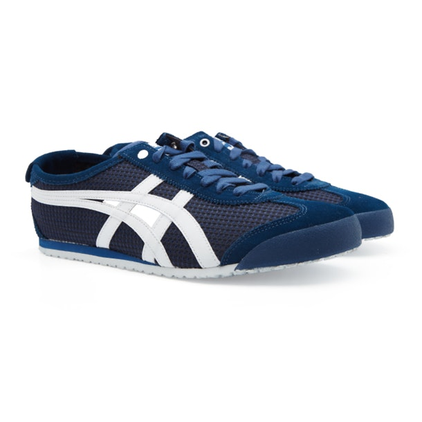 wholesale dealer c91d1 c2e60 Onitsuka Tiger Shoes, Navy Mexico 66 Sneakers for Men at ...