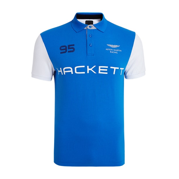 01145ba7 Hackett Polos, Multi Colour Blue 95 Polo T-Shirt for Men at ...