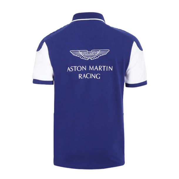 Buy Hackett London Red Aston Martin Racing Wings Polo T Shirt For Men Online The Collective