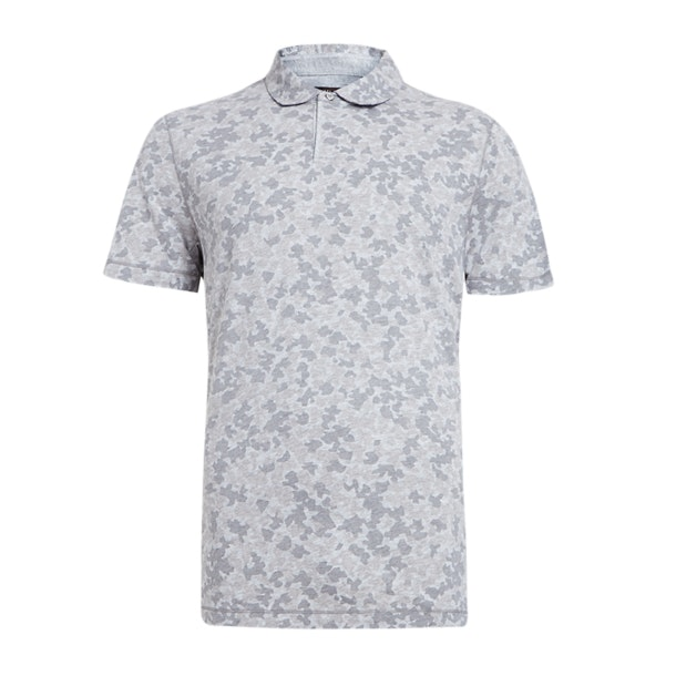 f44c79f2 Michael Kors Polos, Grey Camo Print Polo T-Shirt for Men at ...