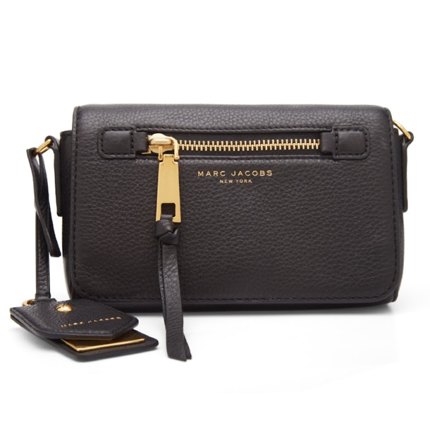 560b9e32a213e Marc Jacobs Bags, Black Recruit Leather Cross Body Bag for Women at ...