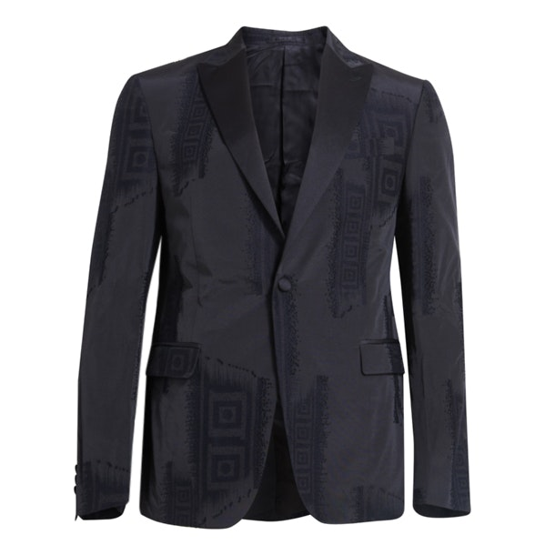 889d46ff7 Versace Collection Jackets And Coats, Black Sheen Formal Jacket for ...
