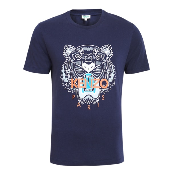 8169fe8a Kenzo T-Shirts, Navy Panther Print Tshirt for Men at Thecollective.in
