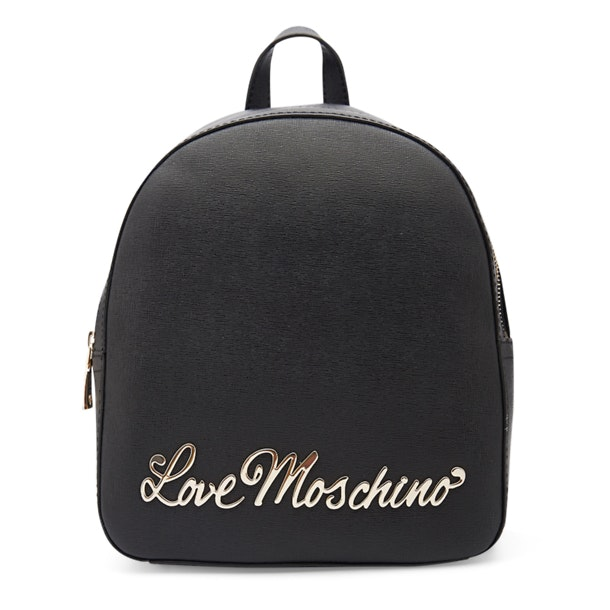 5d46f84dfb Love Moschino Bags, Black Solid Backpack for Women at Thecollective.in