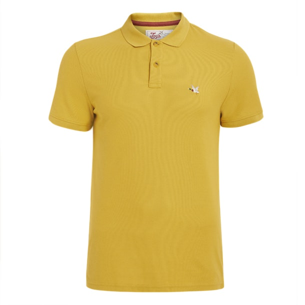 Chevignon Polos Yellow Duck Logo Polo Tshirt For Men At
