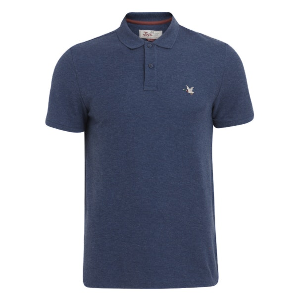 Chevignon Polos Blue Duck Logo Polo Tshirt For Men At Thecollective In