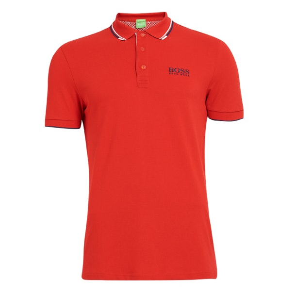 1d8e18ef6 Hugo Boss Green Polos, Red Paddy Polo for Men at Thecollective.in