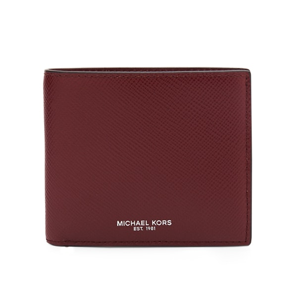 a9f4ec51ce28aa Michael Kors Wallets, Red Bifold Wallet for Men at Thecollective.in