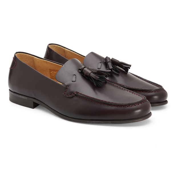 9ccf15257bed6 Hudson Shoes, Wine Tassel Loafers for Men at Thecollective.in