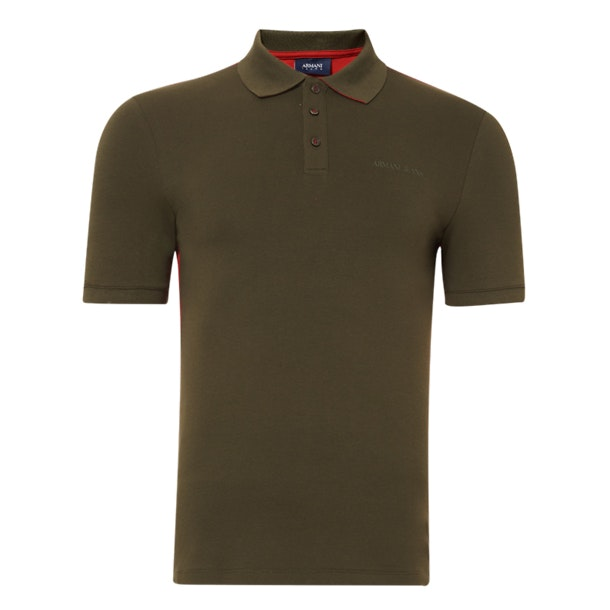 9f4c62c5e2 Armani Jeans Polos, Green Polo T-Shirt for Men at Thecollective.in
