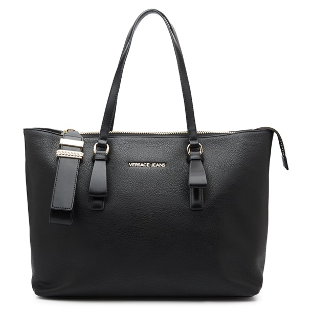 500c3f8742817 Versace Jeans Bags, Black Tote Bag for Women at Thecollective.in