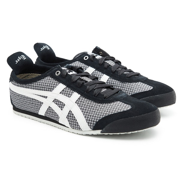 half off 856c4 0e59e Onitsuka Tiger Shoes, Black Laced Up Casual Shoes for Men at ...