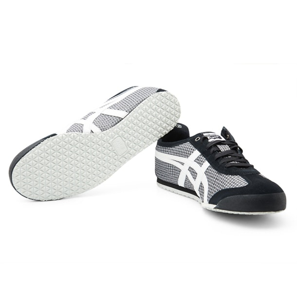 half off a81eb 1f666 Onitsuka Tiger Shoes, Black Laced Up Casual Shoes for Men at ...