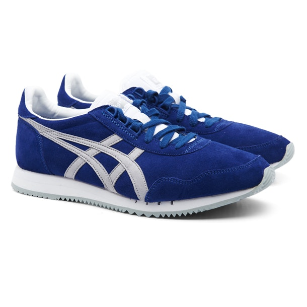 on sale 2337e 0de85 Onitsuka Tiger Shoes, Blue Laced Up Casual Shoes for Men at ...