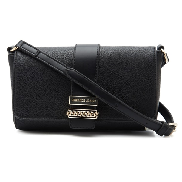 78dac0679ab Versace Jeans Bags, Medium Black Sling Bag for Women at Thecollective.in