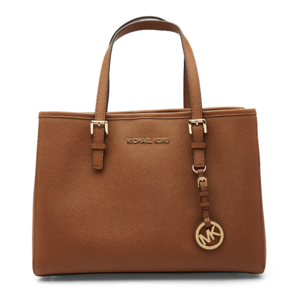 95e1a174a9eb Michael Kors Bags, Tan MK logo Tote Bag for Women at Thecollective.in