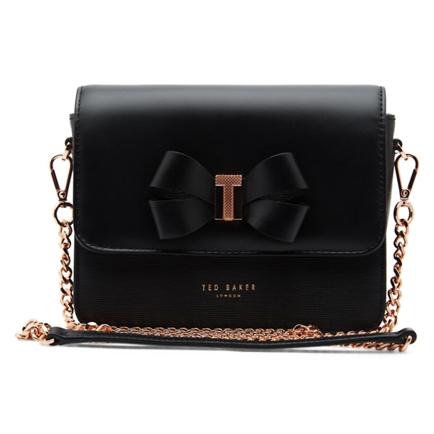 231d77f4b2dba Ted Baker Bags, Black Leather Sling Bag for Women at Thecollective.in