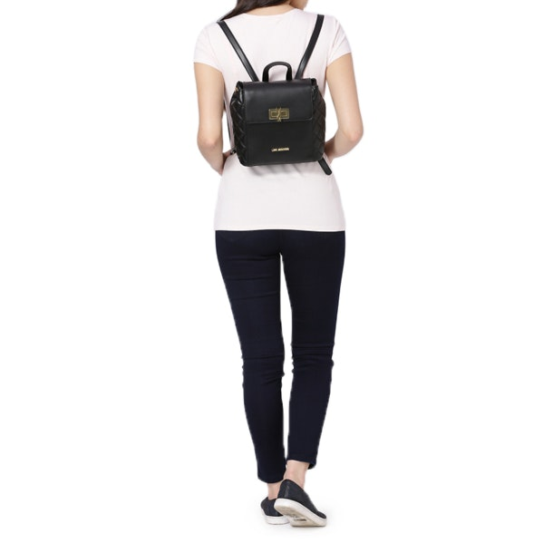 love moschino bags black small bag for women at thecollective in