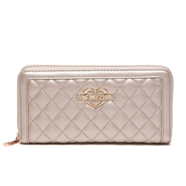 bb16e2eae7be24 Love Moschino Bags, Pink Quilted Wallet for Women at Thecollective.in