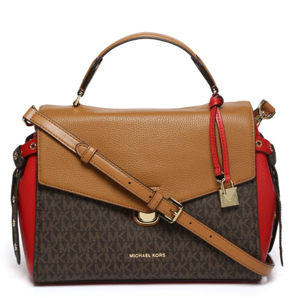 08f814a50556 Michael Kors Bags, Brown Satchel Bag for Women at Thecollective.in