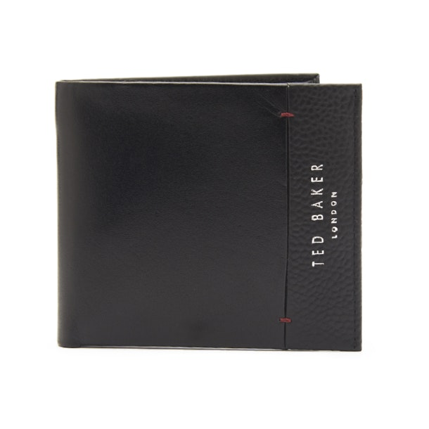 8bf68b90289a Ted Baker Wallets, Black Leather Wallet for Men at Thecollective.in