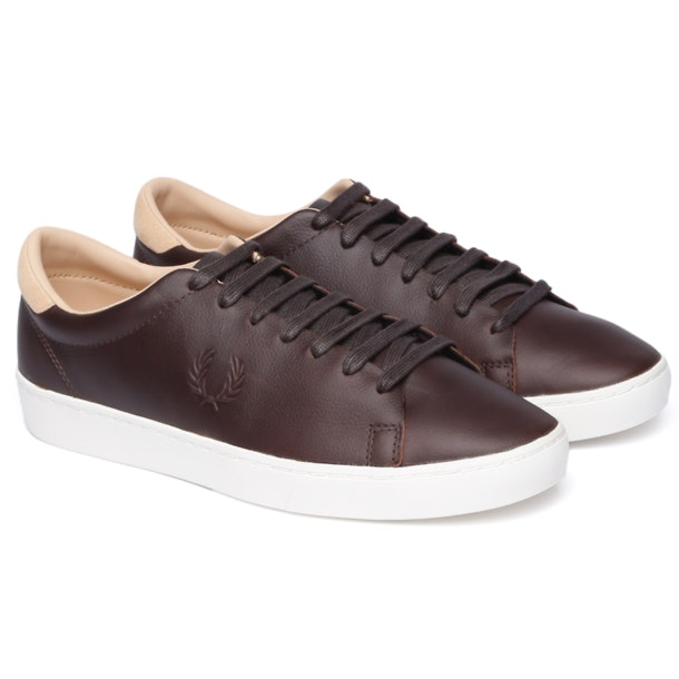100% authentic competitive price innovative design Fred Perry Shoes, Brown Spencer Leather Shoes for Men at ...