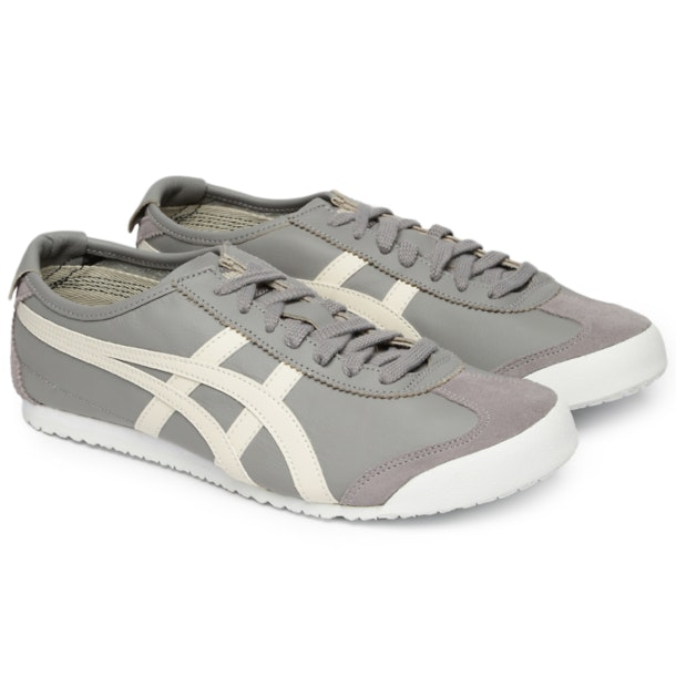 sports shoes ea4a6 660c0 Onitsuka Tiger Shoes, Grey Mexico 66 Sneakers for Men at ...