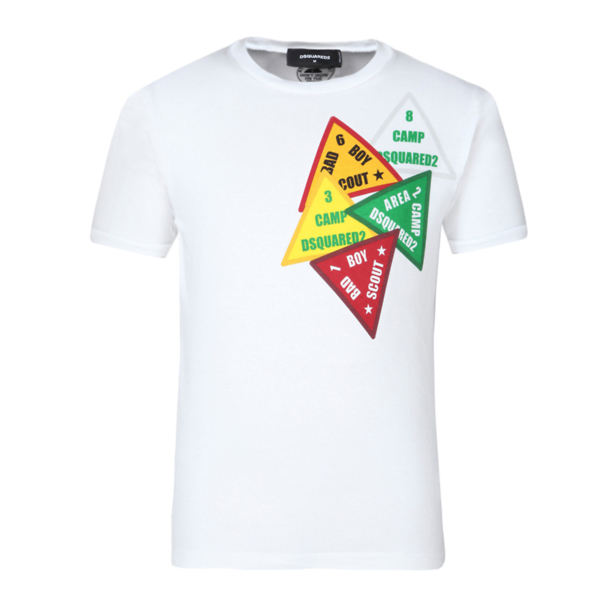 Thecollective T Dsquared 2 Shirt Printed ShirtsWhite For in Men At R3Ajc54LqS