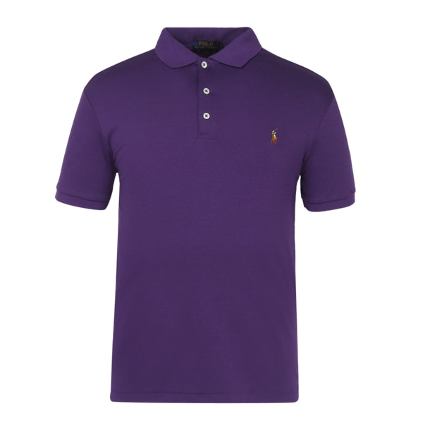 88aa515602 Polo Ralph Lauren Polos, Purple Slim Fit Soft Touch Polo Shirt for ...