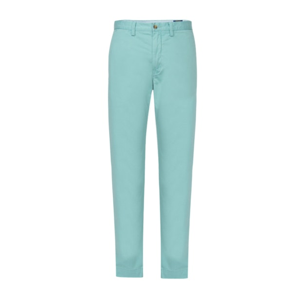 769aa1c515b5 Polo Ralph Lauren Trousers, Green Stretch Straight Fit Chino for Men ...