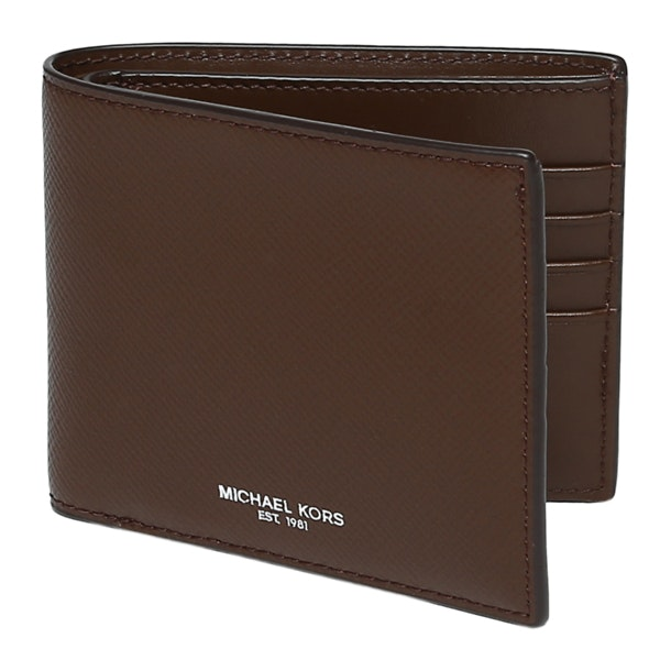 4b76aec7c04f Michael Kors Wallets, Brown Textured Wallet for Men at Thecollective.in