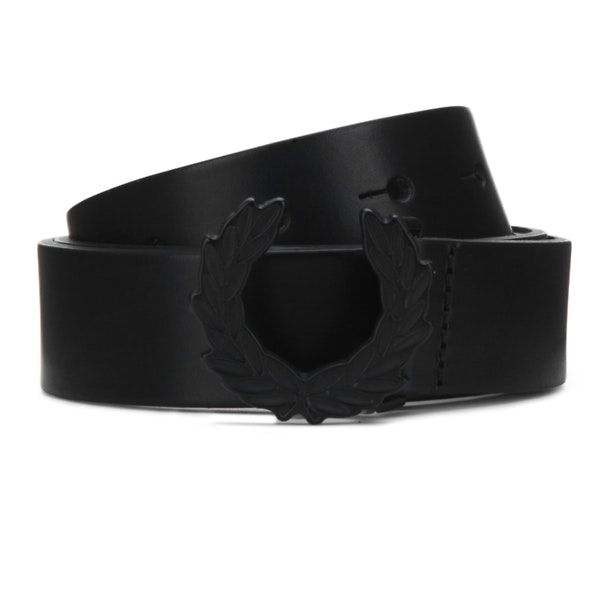 f5e5e32f0 Fred Perry Belts And Buckle, Black Laurel Wreath Belt for Men at ...