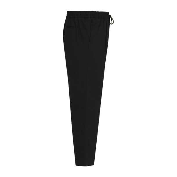 fb92bcf028914 Mcq Alexander McQueen Sports, Black Pleated Front Track Pants for ...